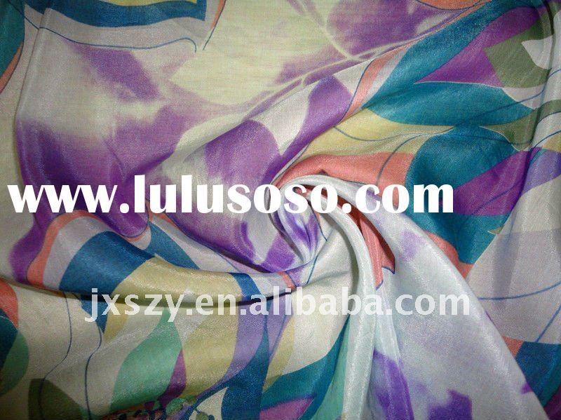 silk cotton / silk cotton fabric / cotton silk fabric