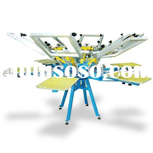 silk screen printing machine screen printing equipment t shirt printing machine CY66S
