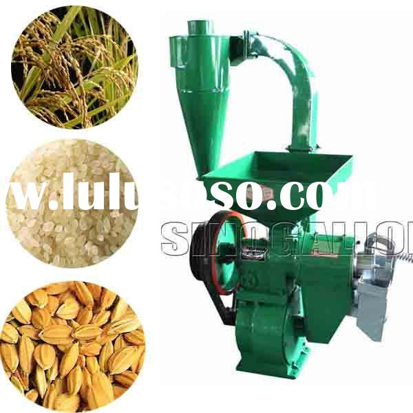 small rice mill machine with polishing function