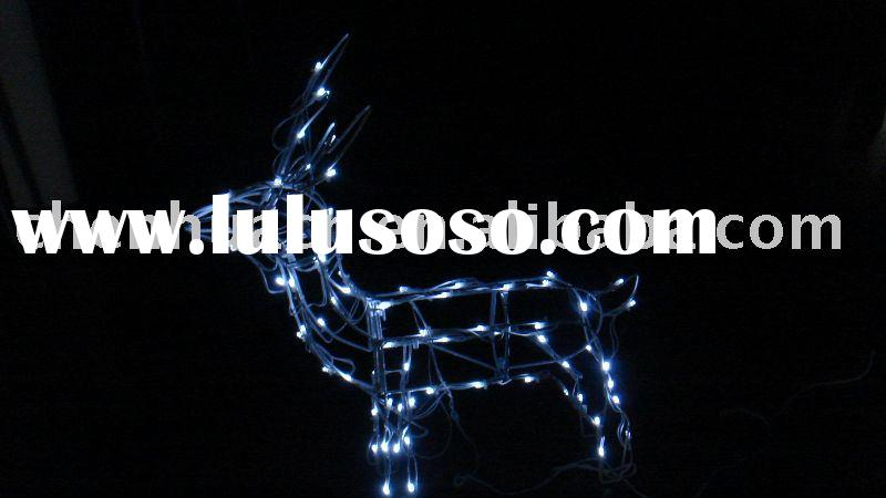 solar christmas deer/ christmas decoration