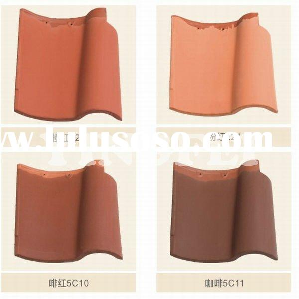 spanish style clay roof tile price for decoration