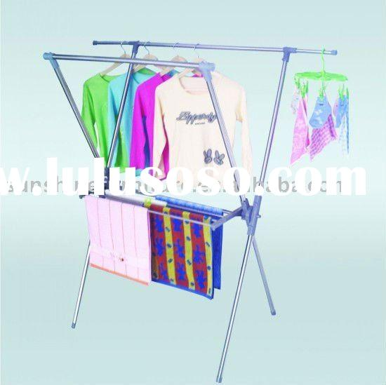 stainless steel Clothes Hanger Rack/Coat Stand Drying Rack Drier