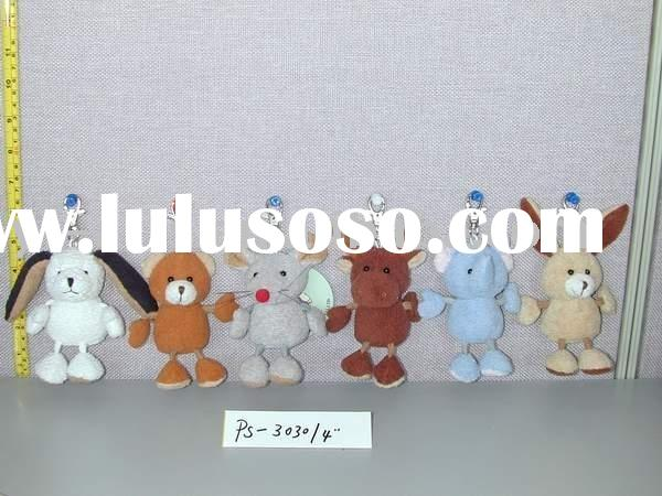 stuffed animals with key chain,plush toys key chain,stuffed toys key chain,key chain