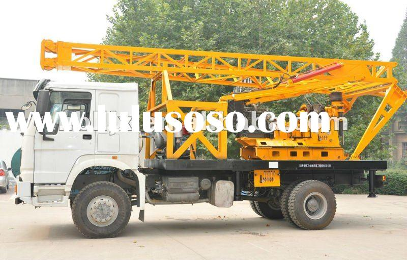truck mounted diamond core drilling rig