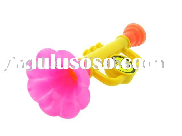 trumpet toys(bugle toys,toy trumpet,plastic trumpet,plastic toys,musical insturment)
