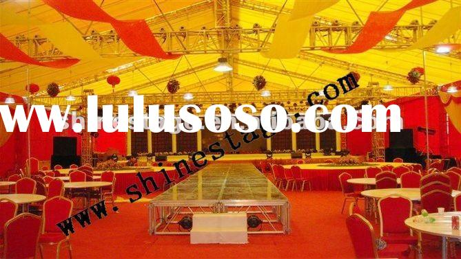 truss for wedding stage decoration details Spigot Truss Material