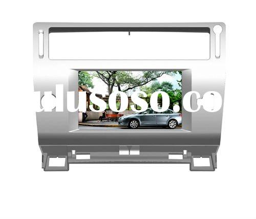 two din Car DVD Player With TV/AM/FM/Bluetooth/USB/SD CARD/GPS for CITROEN C4