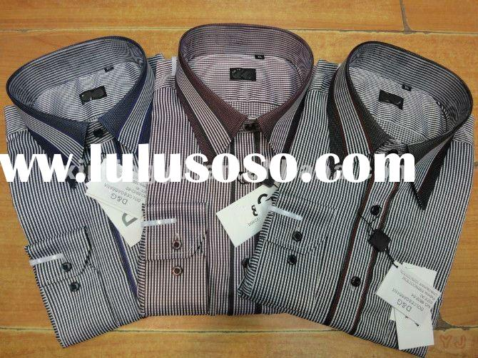 unique design brand name fashion soft mens stripe dress shirt, luxury casual shirt,colorful&mode