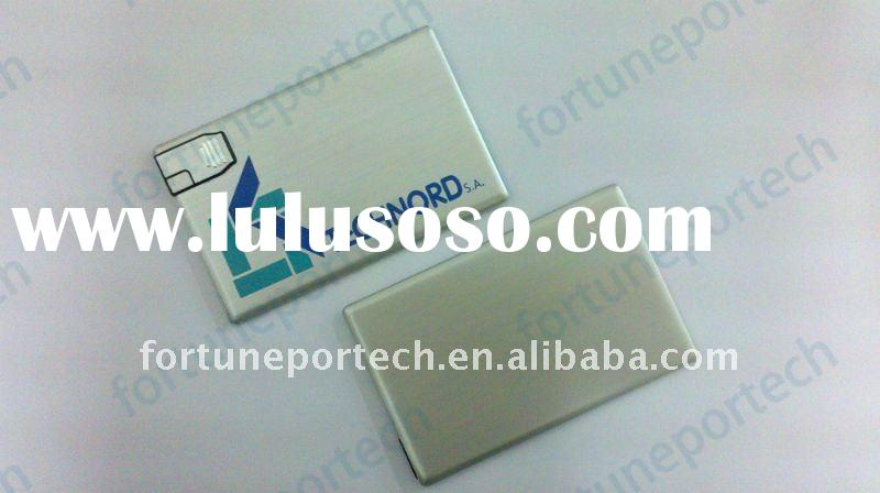 usb business card with metal material(Best Promo gift for VIP clients!)