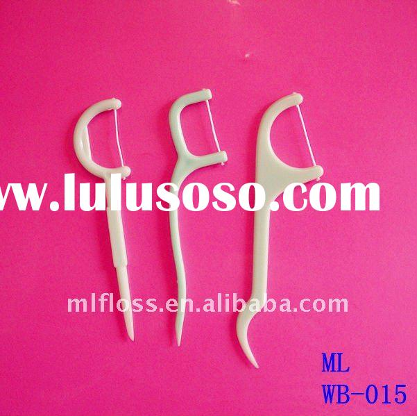 waxed dental floss picks