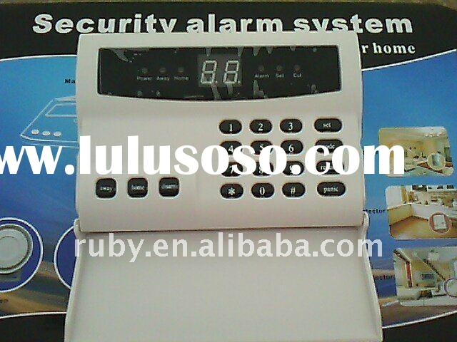 wireless home security system house