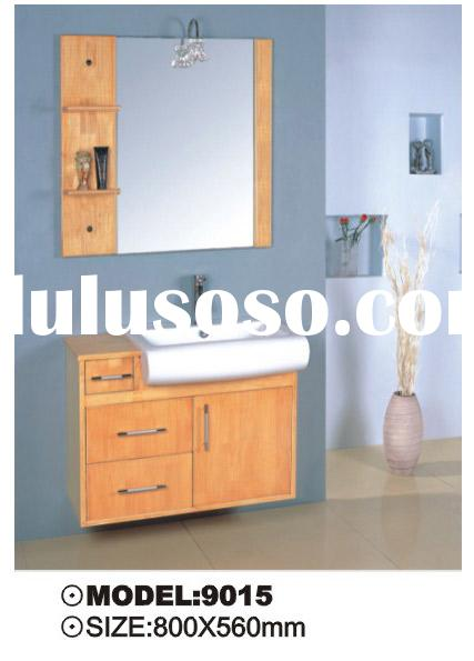 wooden bathroom cabinet,cabinet,oak bath vanity,living room furniture(9015)