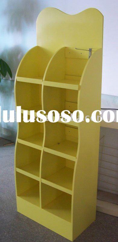 wooden stand, wood stand, wooden display stand, wooden rack, wooden supermarket stand