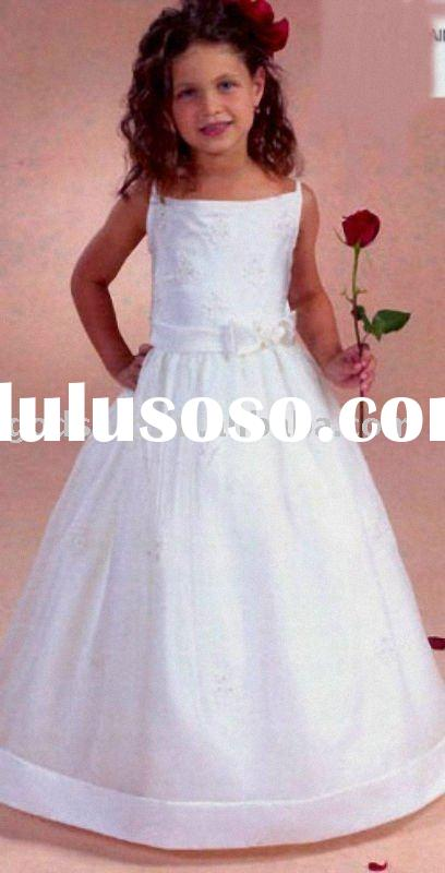 0035 Flower Girl Dress Gown in Fashion For Kid Dress
