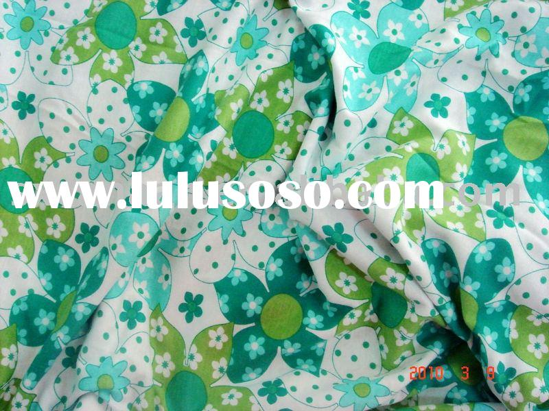 100% COTTON PRINTED JERSEY FABRIC