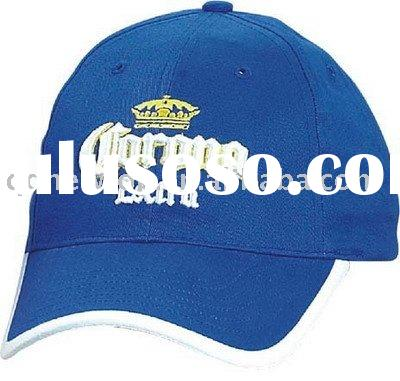 100% Cotton Twill Baseball cap with 6 panels