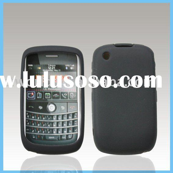 100% pure silicon back case for Blackberry 8520