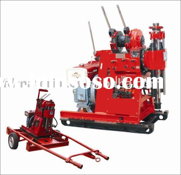 100m deep Diamond Core Drilling Rig for soil investigation