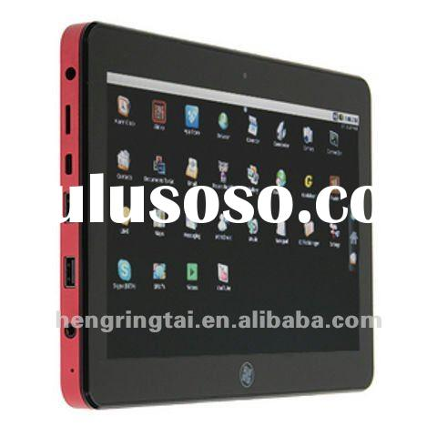 10.1 Capacitive touch screen tablet PC, support windows 7 and Android 2.2 Dual operation systems, su