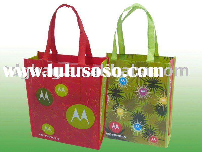 120gsm laminated PP non woven promotional bag