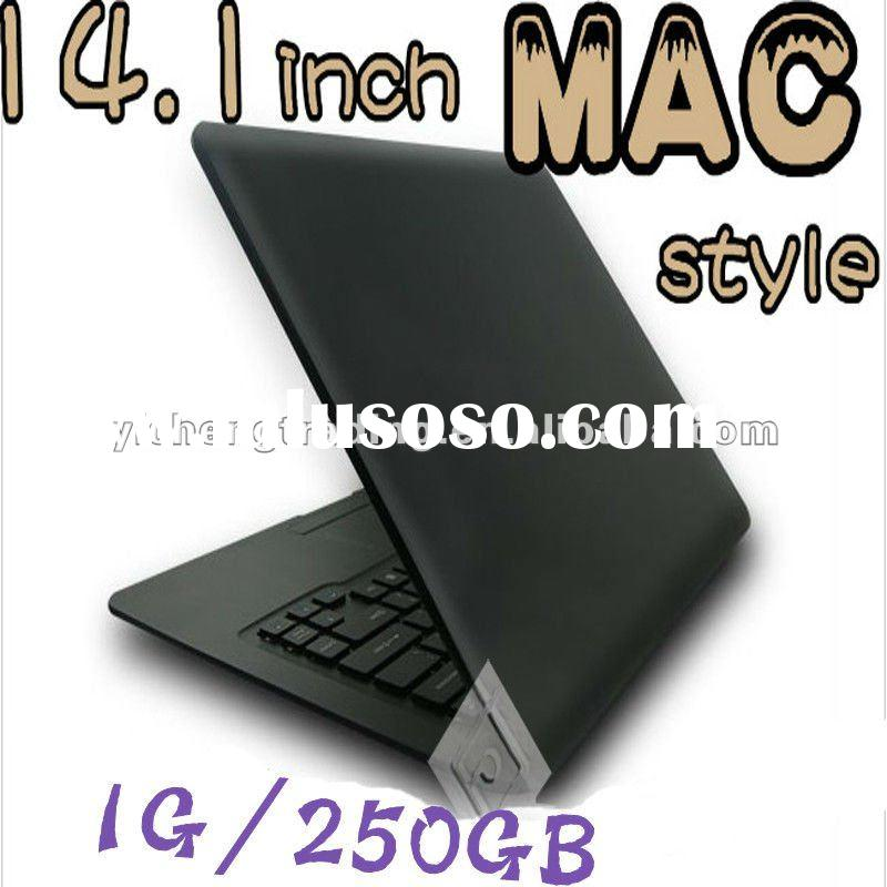 14.1 inch intel ATOM dual core CPU 1.8GHz Notebook/Laptop
