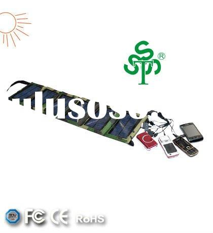 1800mA Solar Battery Charger for Mobile Phones, MP3, MP4, GPS