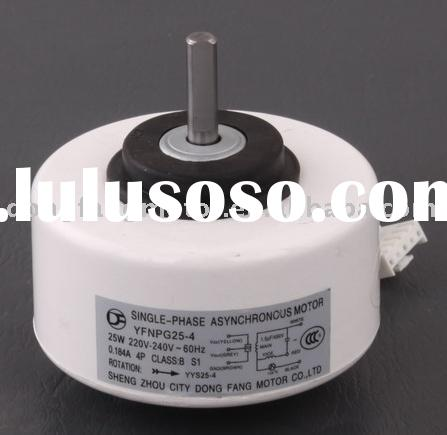 1P split air conditioner part 1 phase AC motor