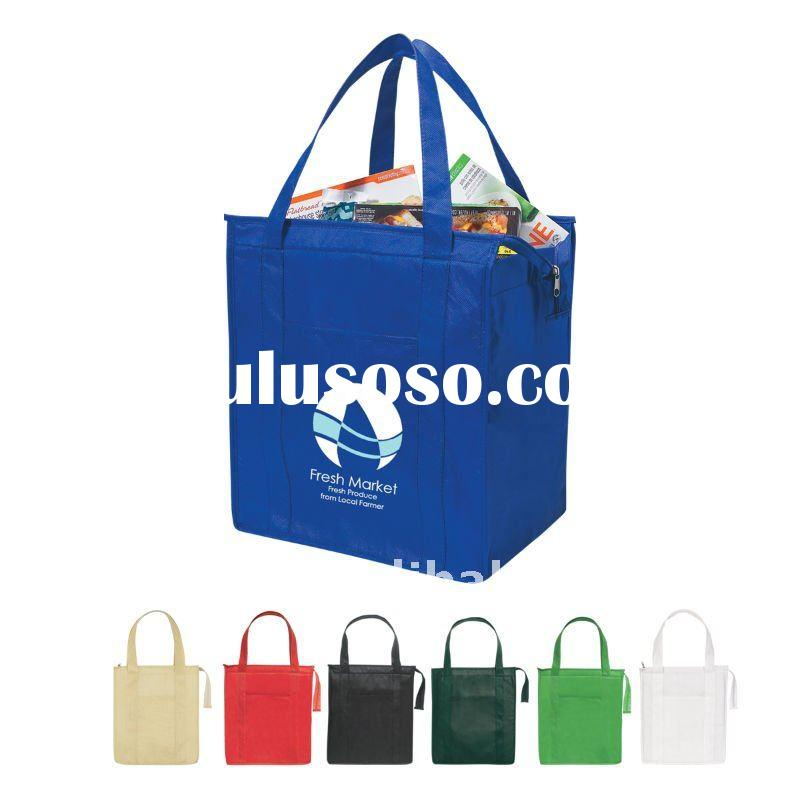 2011 HOT SALE New Design recycle promotion pp non woven books carrying bag