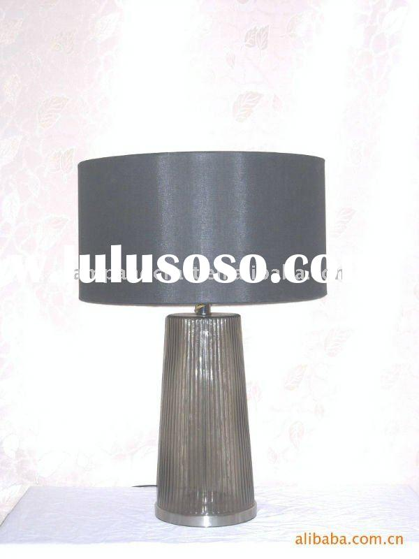 2011 Hotel Smoky Glass Table Lamp/Desk Lamp/Desk light/Table Light/Table Lighting/floor Light/floor