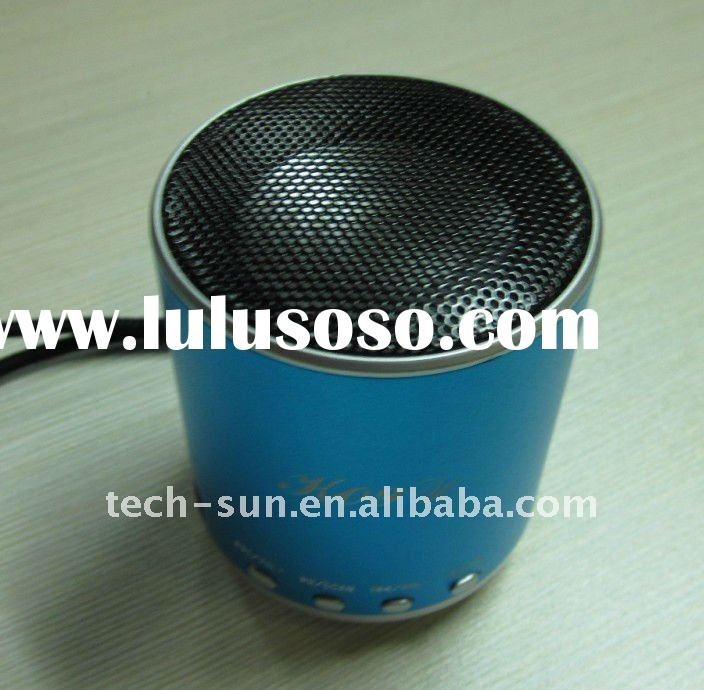 2011 New Mini speaker for iphone stereo Sound speaker for MP3 MP4 Ipod Laptop Portable Audio Player
