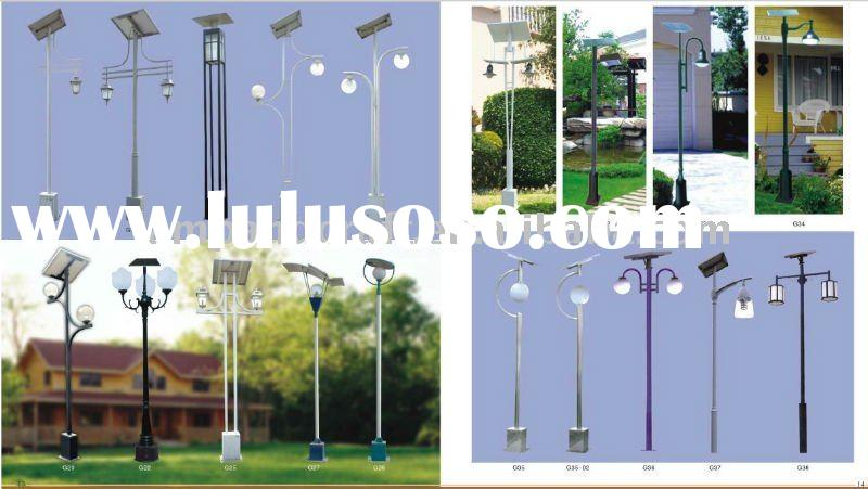 2011 Solar garden park road light/solar garden lamp/outdoor solar lamp/solar square light/solar lawn