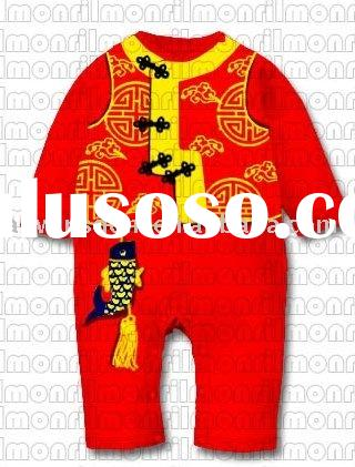 2011 Winter new style red Chinese-style clothing new year's celebration sale cotton mixed cl