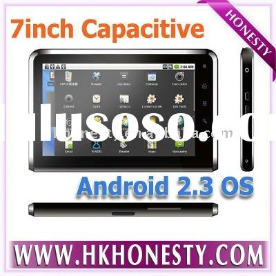 2011 new 3G tablet pc 7 iinch android 2.3 os capacitive touch screen MID with phone call funcation