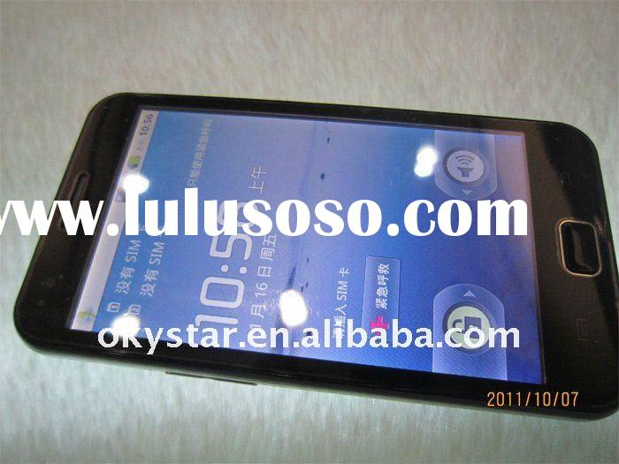 2011 newest and cheap A910 4.3 inch android 2.2 smart cell phone with TV wifi and GPS