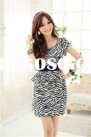 2011 summer zebra print dress hot sale dress hot sale 1Product detail 2011