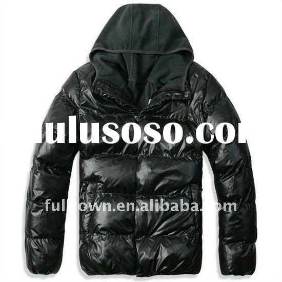 2012 Men Quilted Jacket for Winter, Brand Winter Jacket
