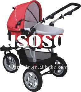 2012 baby stroller 3 in 1 /buggy /pram /carriage/go-cart/perambulator/popualr Europe style