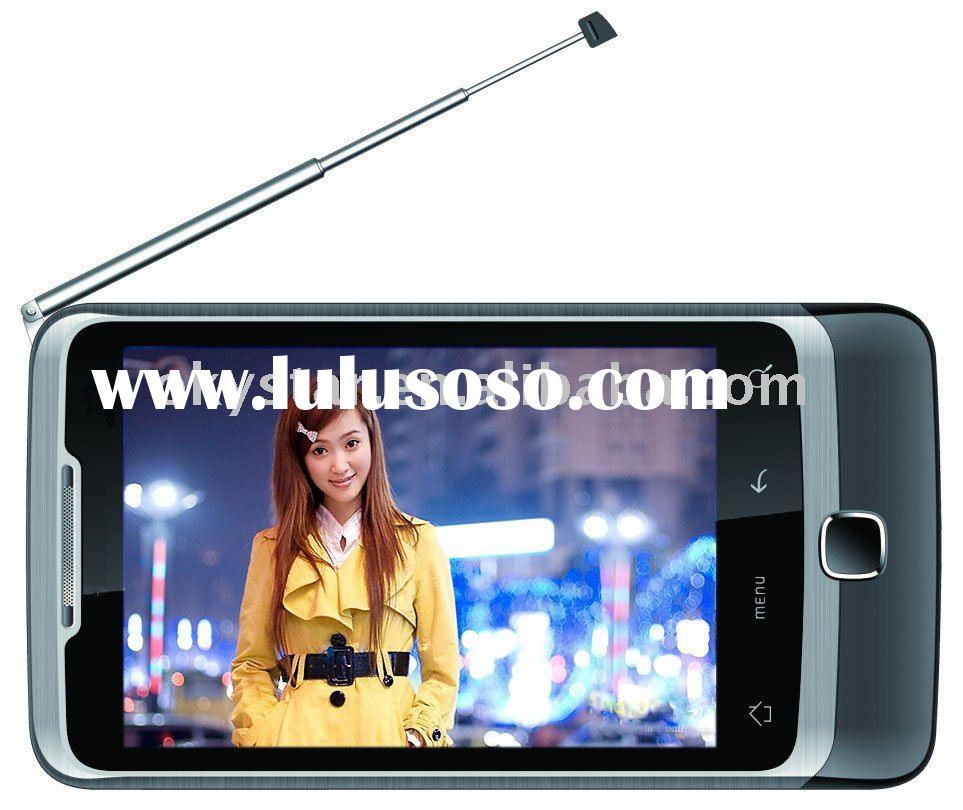2012 hot-selling dual sim android gps mobile phone with capacitive touch screen