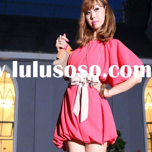 2012 hot selling fashion ladies casual dress 1358#