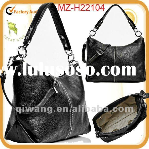 2012 hot selling stylish leather handbag patterns free