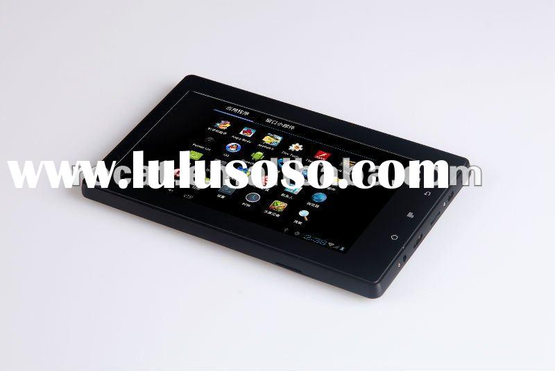 2012 new 3G tablet pc android 4.0 capacitive with Sim card port/phone calling function