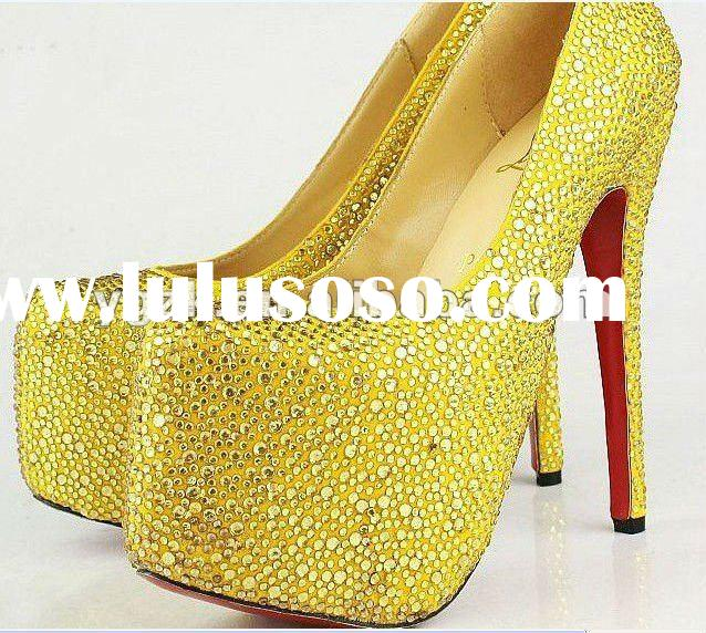 2012 new arrival women's high heel shoes,dress shoes,paypal