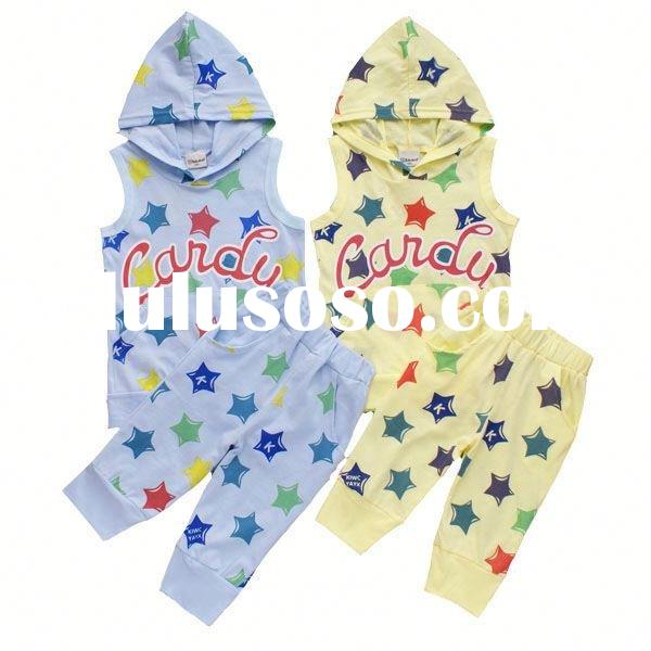 2012 new design lovely children's clothing set children branded designer clothing