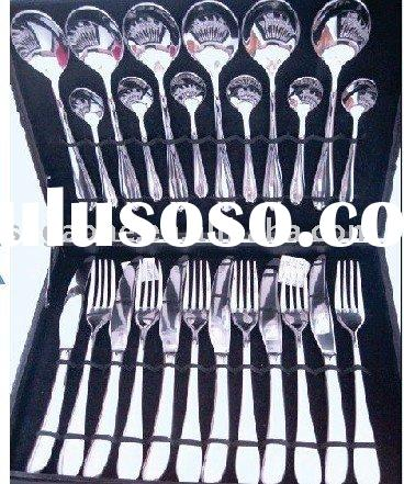 20PCS Stock stainless steel spoon knife forks set a