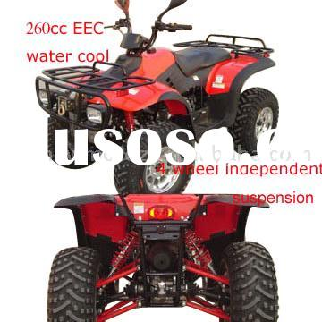 260CC WATER COOLED EEC QUAD ATV CVT TRANSMISSION WITH FOUR INDEPENDENT SUSPENSION