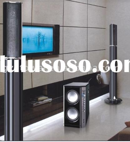 2.1 home theater speaker system with FM radio, pro audio equipment, professional loudspeaker,2.1 sub