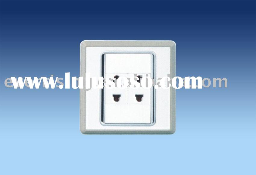 2 gang wall socket (16A 2pin socket)