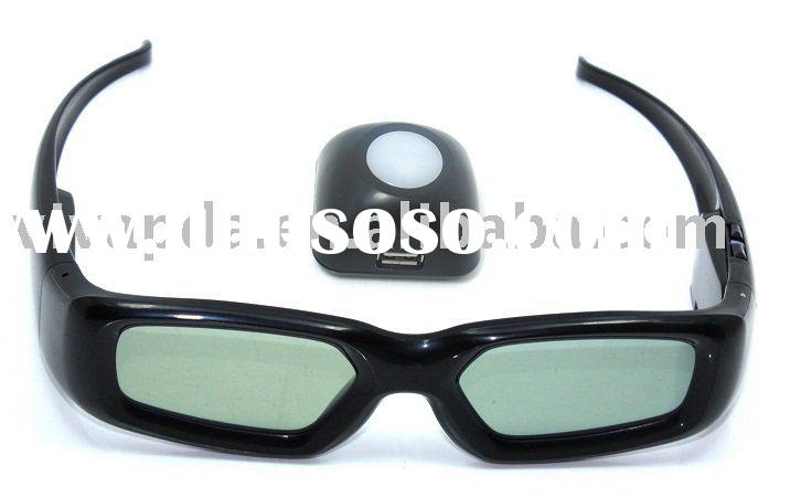 3D Active shutter Glasses for all kinds of brand 120 Hz LCD/LED MONITORs or 100Hz CRT MONITORs