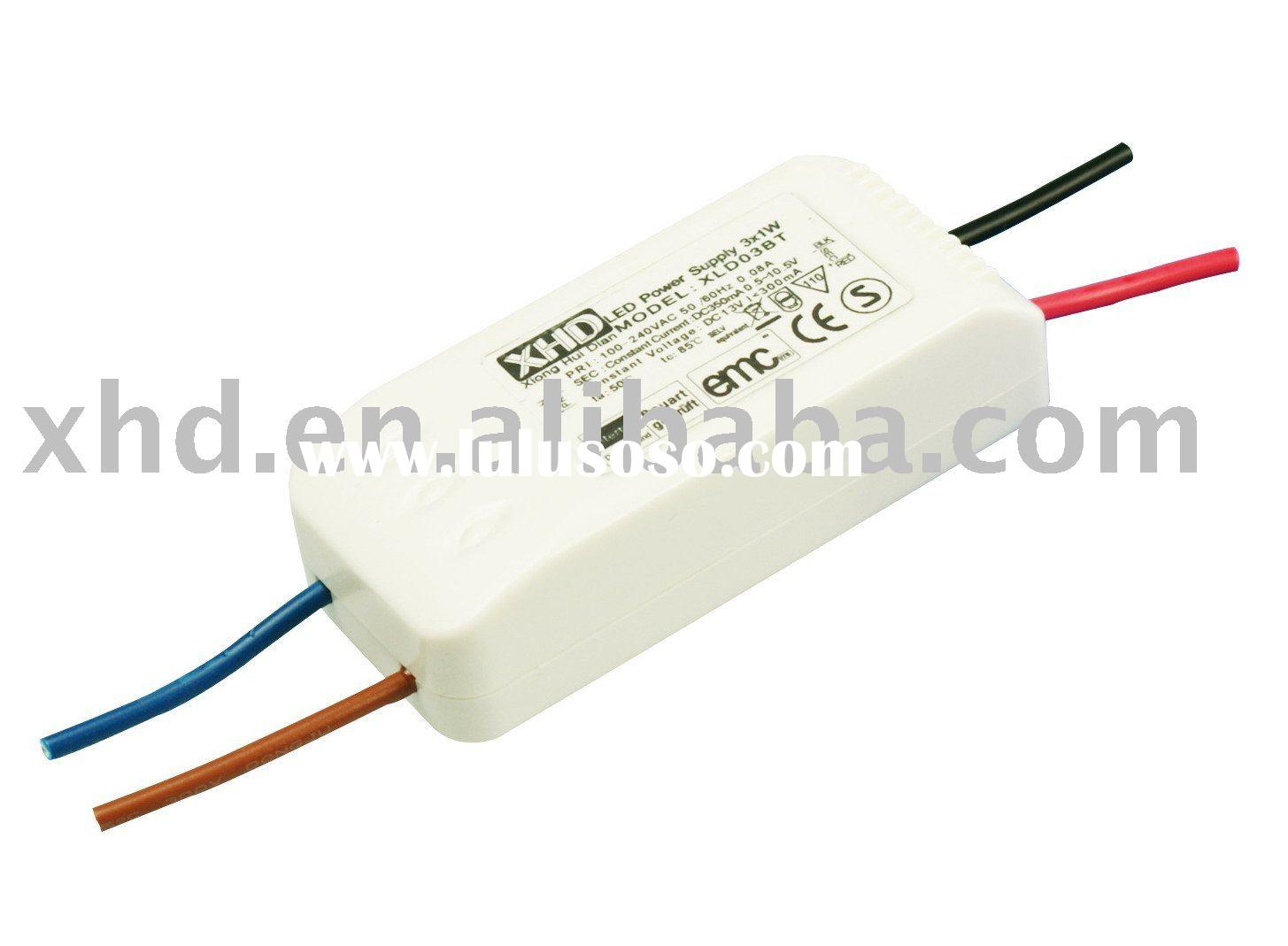 3*1W LED Driver Constant current 350mA