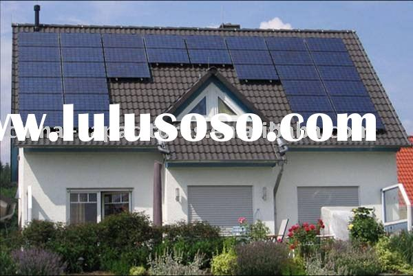 4000w solar energy system for home use(solar module+soar inverter+controller+battery+cable,connector